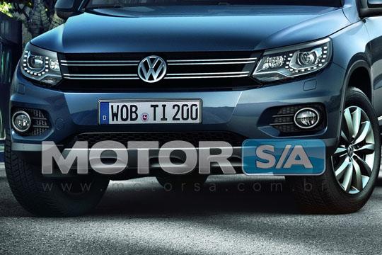 Fotos de Carros - Novo Volkswagen Tiguan 2012