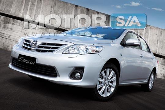 Fotos de carros - Novo Toyota Corolla 2012