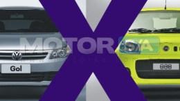 Fotos de carros - Novo Uno e Novo Gol