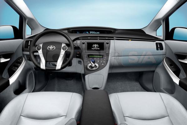 Toyota Prius Interior - Carro Híbrido