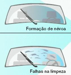 palhetas do limpador de parabrisas - problemas