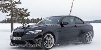 Spy Shot BMW M2 CS