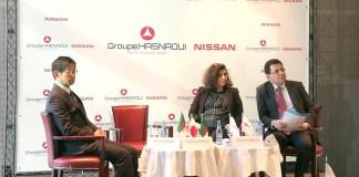 Conférence de presse, lancement du projet usine Nissan en Algérie