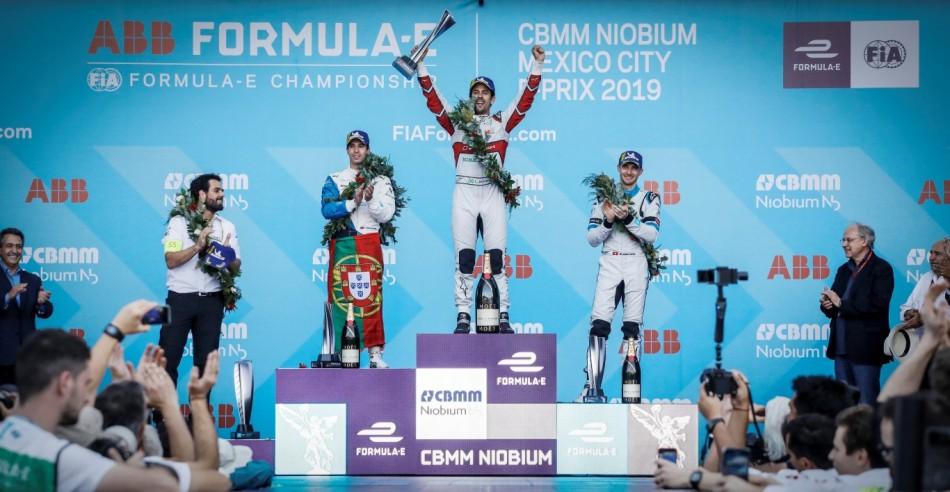Formule E – Di Grassi remporte le Grand prix de Mexico City