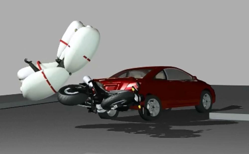 Concept de siège éjectable avec airbag par Honda