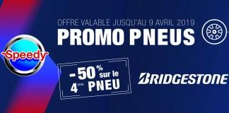 Nouvelle promotion sur les Pneus Bridgestone by Speedy Algérie