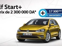 Offre crédit sans intérêt sur la Volkswagen Golf Start+