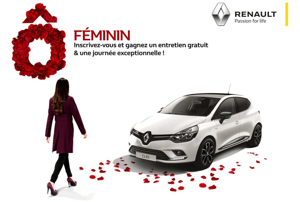 Remises et offres Journée de la femme by Renault Algérie