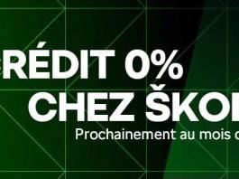 Teaser de la formule Crédit à 0% by Skoda Algérie