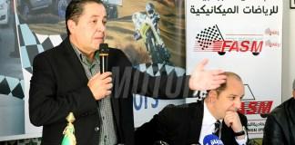 Karim Benhamiche, Président de la fédération algérienne des sports mécaniques
