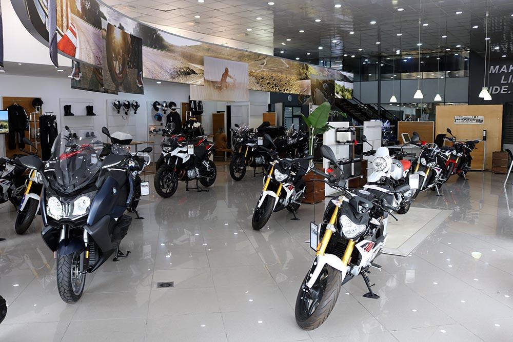 Showroom BMW Motorrad Algérie