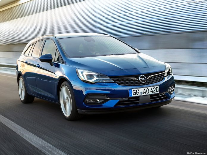 Opel Astra facelift