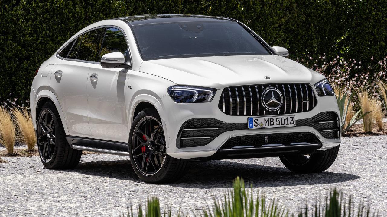 2021 Mercedes GLE Wallpaper