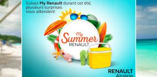 Renault Algérie My Summer