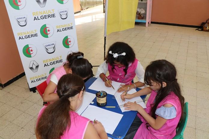 Renault Algérie : lancement de la campagne de sécurité routière pour la rentrée scolaire 2019-2020 en partenariat avec le CNPSR