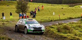 Doublé au rallye de Grande-Bretagne pour ŠKODA et titre mondial à 19 ans pour Kalle Rovanperä