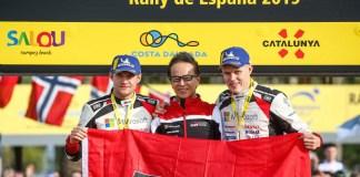 13ème manche du Championnat du Monde des Rallyes en Espagne