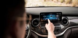 Système multimédia intuitif MBUX - Mercedes-Benz Classe V