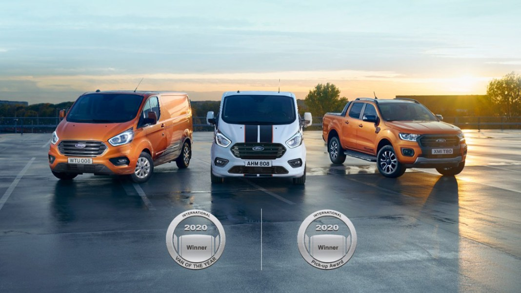 Ford remporte 'IVOTY) 2020 et (IPUA) 2020
