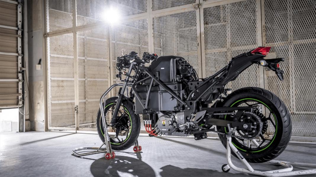 Kawasaki dévoile son nouveau projet de moto électrique