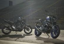 Yamaha MT-125 et MT-03