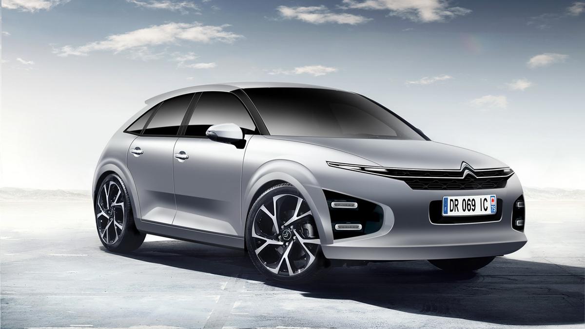Nieuwe elektrische Citroën C4 2020