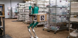 CES 2020 : robot livreur de colis, interface nouvelle génération sync et Mustang Mach-E 100% électrique