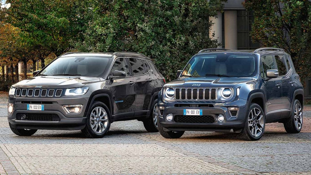 """Jeep Renegade et Compass 4xe """"First Edition"""""""