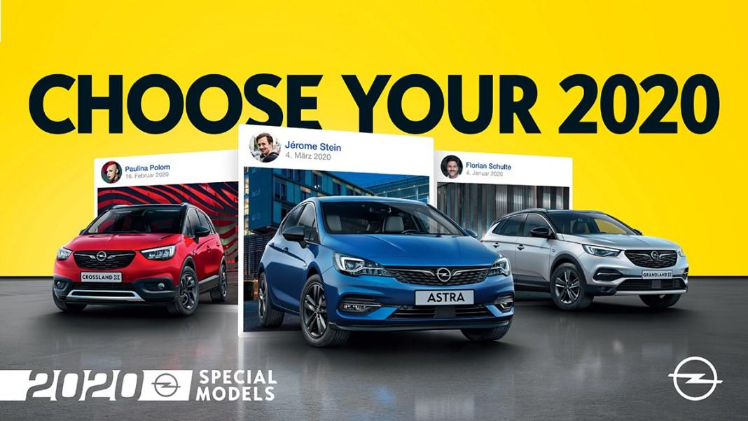 Opel 2020 Special Moldels