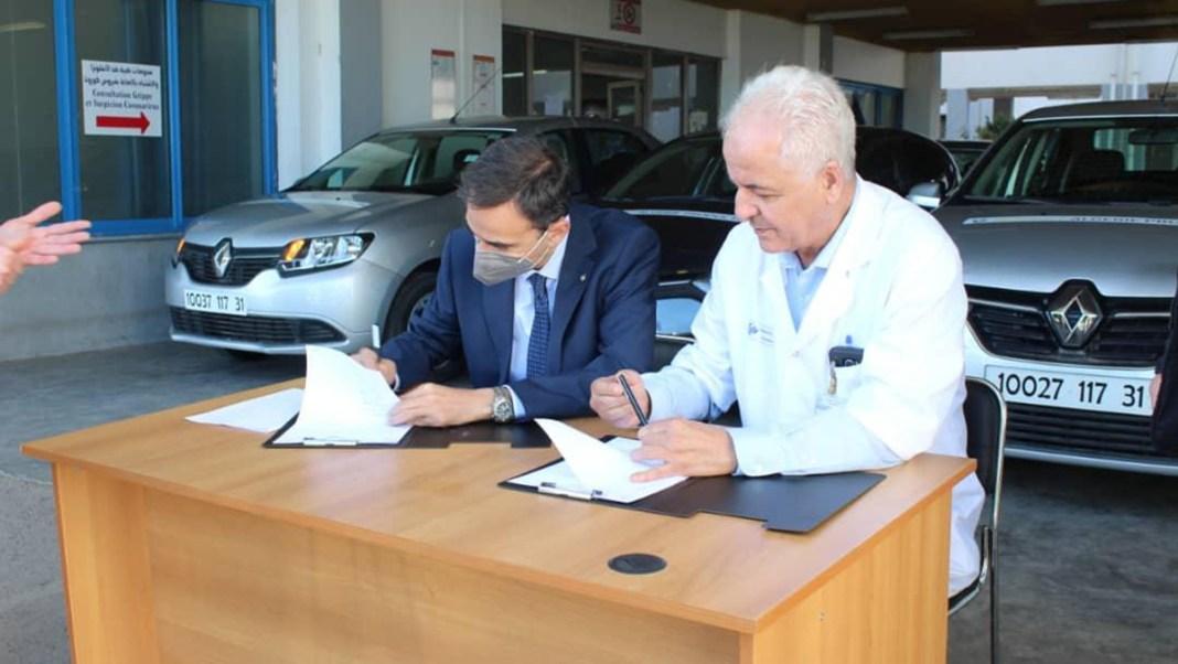 COVID-19 - Renault Algérie Production apporte son aide à l'Hôpital d'Oran