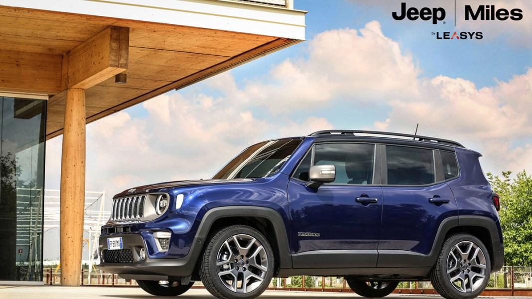 Jeep Miles, la solution de mobilité by Leasys