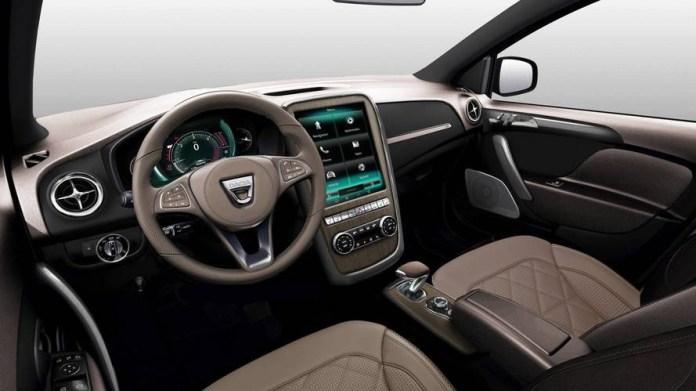 Nouvelle Dacia Sandero 2021 intérieur