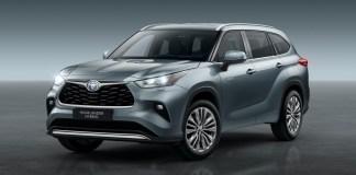 Toyota Highlander hybride sept places