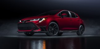 2021 Corolla Hatchback Special Edition