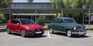Changement de génération, de la SEAT 1400 à la toute nouvelle Leon