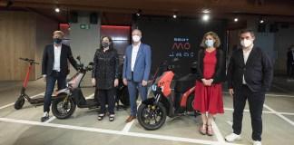 Présentation de SEAT MÓ, la nouvelle marque de mobilité urbaine de SEAT lors de l'inauguration officielle de CASA SEAT