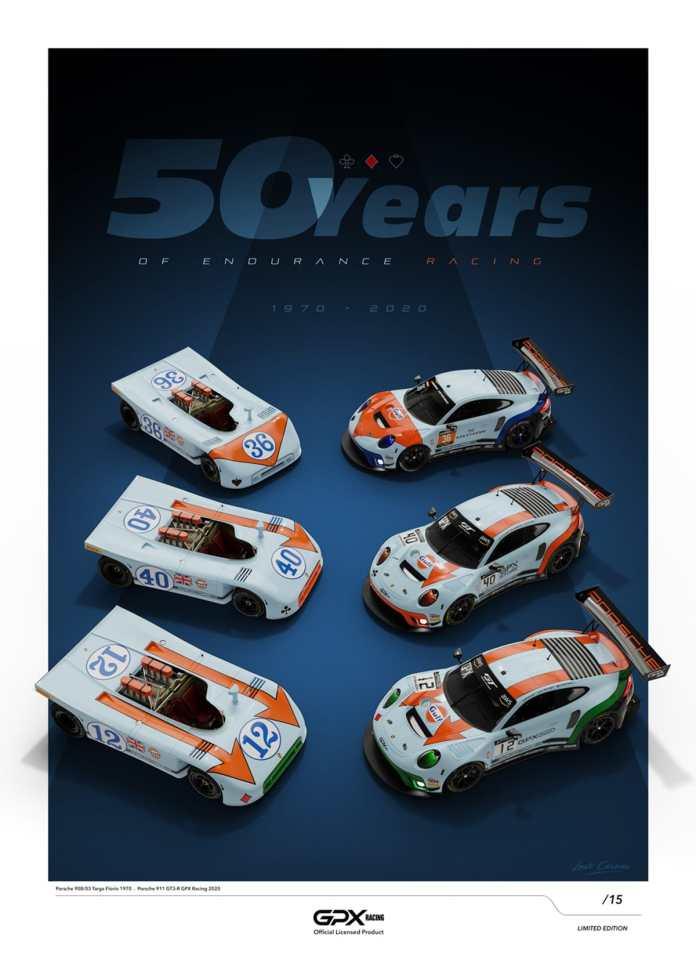 Porsche GPX Racing se prépare à aligner trois Porsche 911 GT3 R pour le cinquantenaire