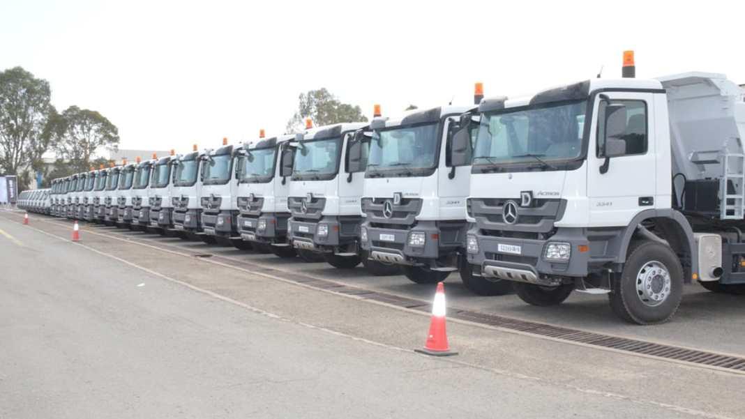 Livraison de 282 camions Mercedes-Benz fabriqués par SPA SAPPL-Rouiba