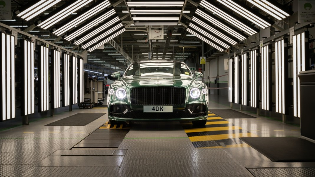 40,000th Flying Spur