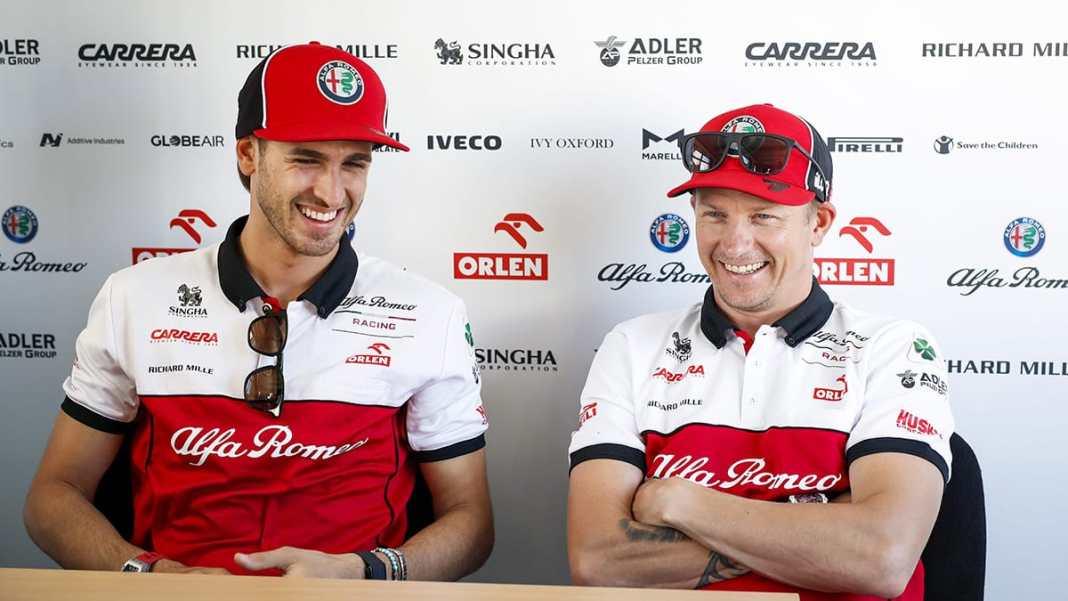 Kimi Räikkönen et Antonio Giovinazzi toujours avec Alfa Romeo Racing ORLEN pour 2021