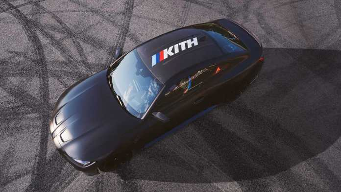 bmw m4 competition kith design study edition on tranck