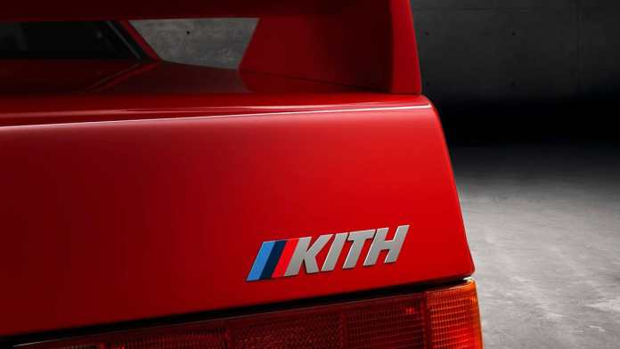 bmw m4 competition kith design study edition with m3 e30