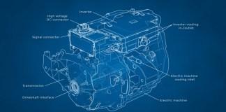 Volvo - moteur électrique