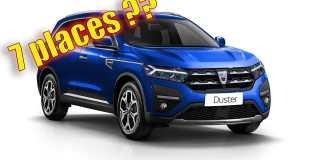 Nouveau Dacia Duster 3 - 2023