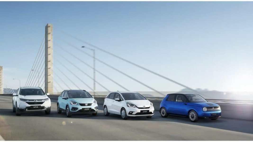Aide à la reprise gamme électrifiée Honda offre 1000 € TTC
