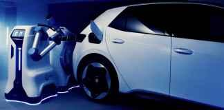 Volkswagen - robot de charge mobile