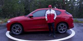 Kimi Raikkonen - Alfa Romeo Stelvio