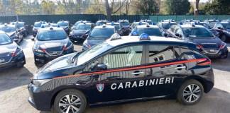 52 Nissan LEAF pour les Carabiniers