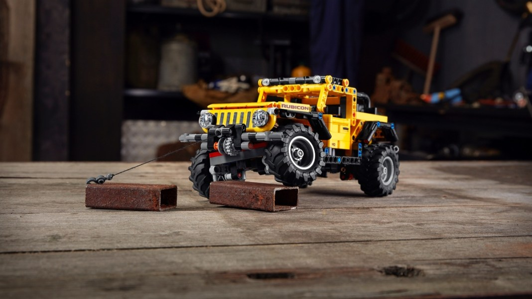 The Jeep®brand and the LEGO Group reveal theJeep Wrangler Rubi