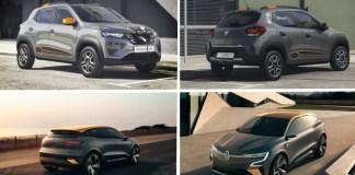 Dacia Spring - Renault Mégane eVision